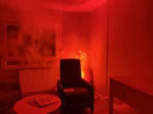 apprendre a reagir en cas de feu dans un hotel ou internant