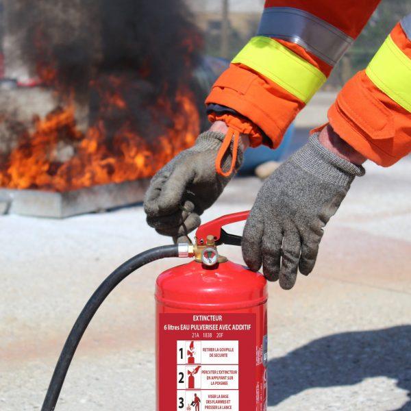 faire des ateliers incendie pour des journées préventions sécurité