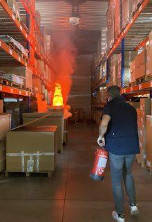 apprendre a evacuer avec une simulation incendie en entreprise