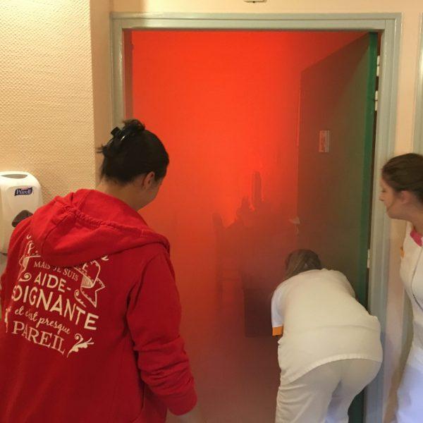 Formation incendie et évacuation EHPAD etablissement de soins type J et U
